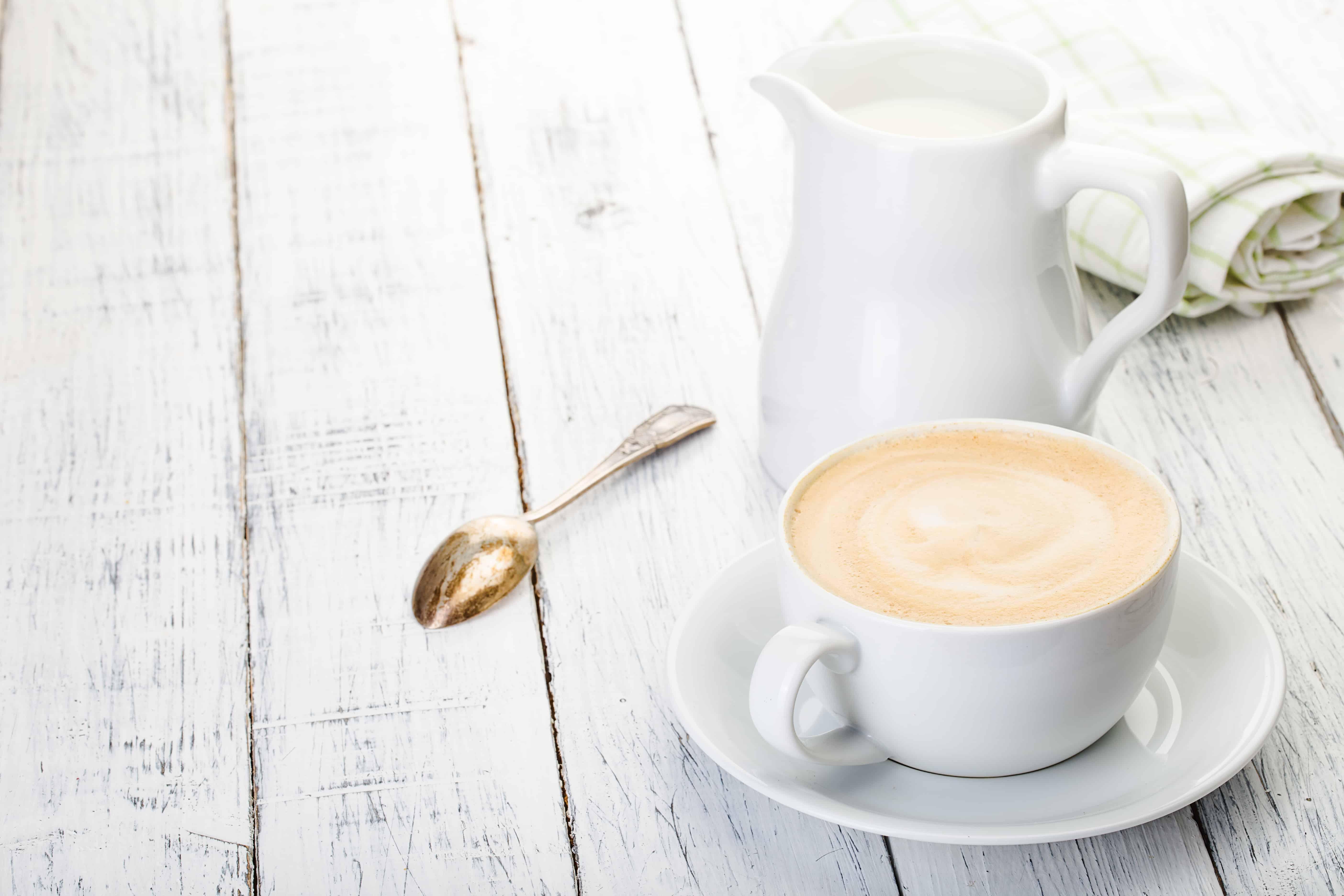 istället för mjölk i kaffet