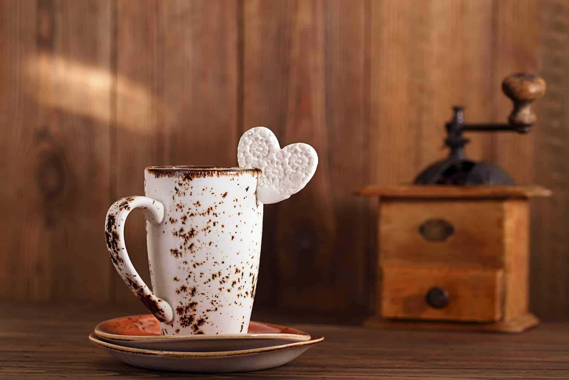 hur mycket är en kaffekopp